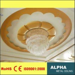 Metal de alumínio sólido decorativos exteriores interiores Customed grande tecto suspenso