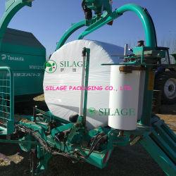 Silage-wikkelfolie voor landbouwrondebalenpers en -pakpers Gebruik