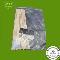 de Stok van de Verspreider van het Riet van de Rotan 100PCS/Bag 3mmx30cm, de Staaf van de Essentiële Olie, Parfum Uitgespreide Geur laat verdampen het Riet van het Bamboe