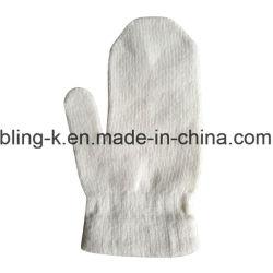 남자 또는 여자의 캐시미어 천에 의하여 섞이는 뜨개질을 하는 온난한 장갑