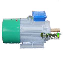 120квт 3 фазы постоянного магнита генератор для ветра и воды/гидравлическая мощность
