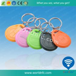 De hoogste Markering van de Ketting RFID Keyfob van de Leverancier Waterdichte Zeer belangrijke