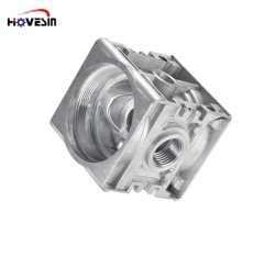 Pressofusione in alluminio e finitura di lavorazione CNC, alta precisione