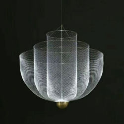 LED modernos de metal iluminación colgante colgante en plata u oro para la cocina mostrador de bar restaurante Comedor