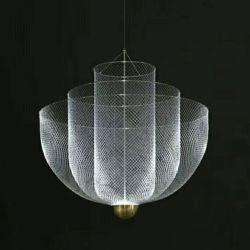 LED modernos de metal de la iluminación colgante en plata u oro para la cocina mostrador de bar restaurante Comedor