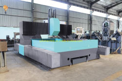 대형 강철 플레이트와 다중 스핀들 CNC 천공장비