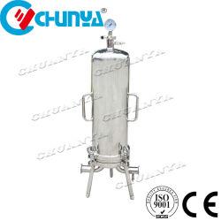 Industrieller Fabrik-Edelstahl-gesundheitliche Filtergehäuse-Wasserbehandlung