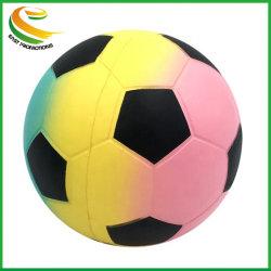 Forme de football personnalisés PU Squeeze jouets avec le logo de l'impression