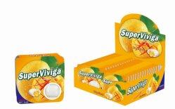 Новые и продавать Super сердце Super Viviga 4PCS жевательной резинки с контргайками заправка