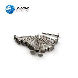 Z-Lion 50PCS، 3.2 مم، نقطة رأس الطحن الدوارة المطلية بالكهرباء مبخرة ماسية الشكل