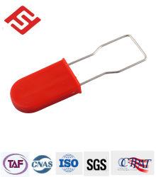 Candado de plástico Precinto de seguridad con el metal como etiqueta clave Hasp