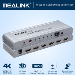 Interruptor de 4K HDMI V2.0 5X1