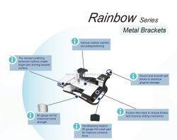 Material de ortodontia Padrão de metal/Mini/Suporte Edgewise