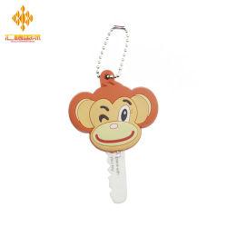 preço de fábrica Custom LED Animal Chaveiro de PVC com a cadeia de Esferas