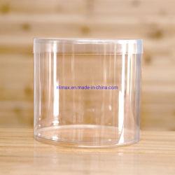 أسطوانة بلاستيكيّة واضحة يعبّئ مستديرة صندوق [بفك] محبوب عادة علامة تجاريّة