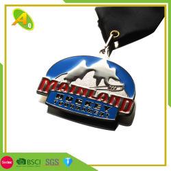 Los Angeles en 2D couleur or de la plaque de métal Militaire Médaille avec du Nickel Pas de mini prix Customed Star 3D Stand la Nouvelle-Zélande placage argent médaille (161)