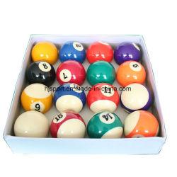 Normales Kasten-Paket und 2 1/4 '' Größen-Zahl-Billiard-Pool-Kugel