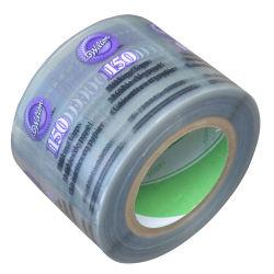 Производство Custom прозрачный ПВХ этикетке флакона на наклейке водонепроницаемый прозрачных косметический этикетки