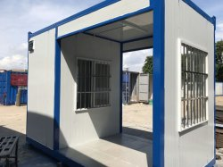 Construções prefabricadas /casa portátil com estrutura de aço para a Residência Temporária