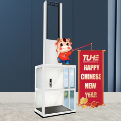 전기 수직 신체장애 무능 의자 층계 엘리베이터 플래트홈 무능한 연장자를 위한 유압 가정 별장 휠체어 승강기