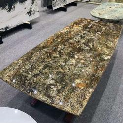 De Braziliaanse Plak van het Graniet van de Shangri-La van de Steen van de Invoer Natuurlijke Kleurrijke Groene