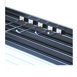L'aluminium panneau Slatwall Conseil fendu