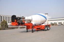Met Diesel Generator 2 Assen betonnen Mixer Truck Trailer