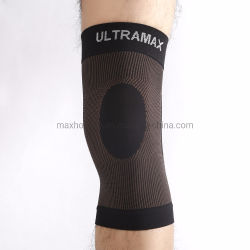 Parentesi graffa di ginocchio di lavoro a maglia di compressione