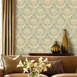 Europäisches Hintergrund-Wand-Papier-Wohnzimmer Fernsehapparat-Wand-Papier