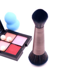 Портативный прибор косметику Double-End имитация шерсти порошок волос щеткой для макияжа