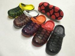 Uomini PVC di Hotsale e pistoni di prezzi dei pattini del giardino dei sandali di EVA buoni (FQF-9)