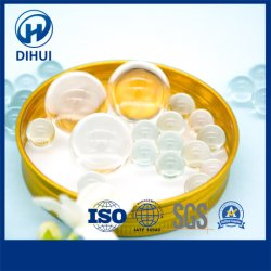 Grootte 1.5mm200mm van de douane de Stevige/Holle Transparante Parels van het Glas van het Kristal van de Laser van de Index van de Kwaliteit van de Hoge Precisie Acryl voor de Pijp van de Homogenisator van de Herinnering van de Decoratie