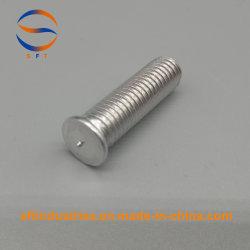 Natural de alumínio M4 ISO13918 Parafuso com rosca de soldadura