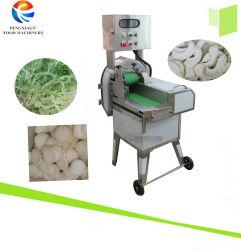 Le poireau sweet potato leaf tranchage Machine, piment de bambou Trancheuse d'Aubergine