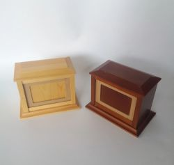 Smart Pet Products carton cercueil en bois pour animaux de compagnie à la crémation URN pour animaux
