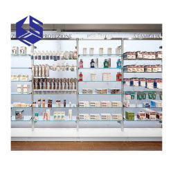 Het moderne Rek van het Kabinet van de Apparatuur van het Meubilair van de Vertoning van de Winkel van de Apotheek Kleinhandels Medische voor Verkoop