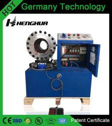 """Ce haut de la Chine usine Certificat de brevet de la technologie de l'Allemagne 6-51mm (1/4 """" ~2"""") 12libère meurt le flexible hydraulique de la machine de sertissage"""