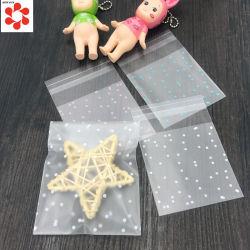 Kundenspezifische transparente lamellierter Plastikflache Beutel des Raum-OPP CPP für das Biskuit-Imbiss-Süßigkeit-Verpacken