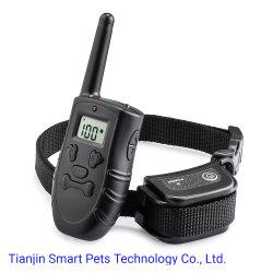 وحدة التحكم عن بُعد القابلة لإعادة الشحن وحدة التحكم الإلكترونية في تدريب الحيوانات الأليفة طوق تدريب الكلاب
