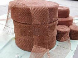 Segurança e suave de malha de limpeza de cobre