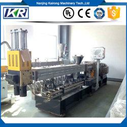 Pet Pp Pe-Filmschrokken Recycling Granulator/Polypropyleen/Nylon Met Glazen Granulaten Extruder Machine