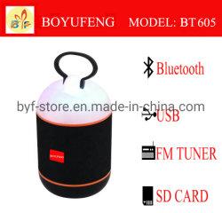 Toda la venta inalámbrica HiFi altavoz portátil con Bluetooth (BT605)