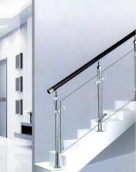 Edelstahl-Glasgeländer-Spalte-Treppen-Balustrade-Spalte