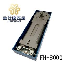 De economische 150kg lente van de vloerscharnier voor frame houten de deurhardware fh-8000 van het aluminiumglas