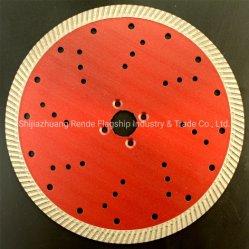 230 mm de diamètre de lame de scie à Lame diamant Turbo pour le béton sec humide coupe briques de granit