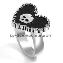 316L anneau en acier inoxydable du crâne Biker bijoux personnalisés