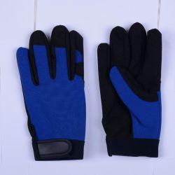 Новая конструкция Synethic работы из натуральной кожи Механические защитные перчатки