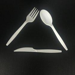 China Fabricante de biodegradáveis Compostável Catering Restaurante descartáveis talheres definido
