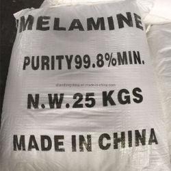 Weißes Melamin-Harz-Puder-niedriger Preis-Melamin-Puder 99.8% 108-78-1