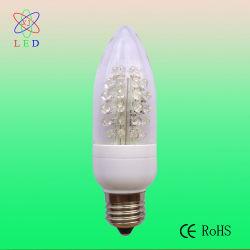 C40 LED E26/E27 de la vis de la forme de bougie de base pour la lumière de l'ampoule Lustre